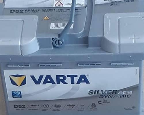 מצבר ורטה 52 אמפר